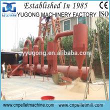 CE aprovou secador de fluxo de tubo de ar de 800kg / h, secador de serragem de madeira