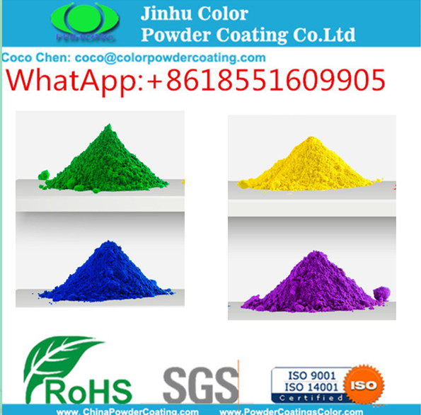 Antimicrobial Powder Painting with excellent color retention