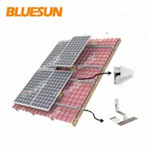 suportes de montagem do telhado do painel solar Suportes de montagem ajustáveis do painel solar Suportes de montagem do telhado da lata