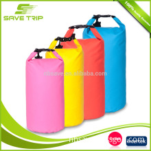 China Supplier Customize Floatable Waterproof Tarpaulin Dry Bag with Shoulder Straps
