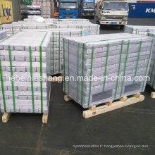 Barres d'aluminium de fabricant d'alliage d'aluminium de lingot