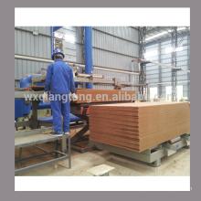 Máquina de lixar de lado duplo para MDF / placa de partículas / HPL / lixadeira de painéis com base em madeira