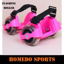 New design 2 wheel with led light Flashing ROLLER