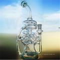 China Novo Design Tubo De Água De Vidro Para Fumar