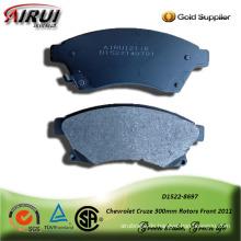 semi-metallic brake pad for Chevrolet Cruze 300mm Rotors Front 2011