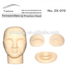Permanent Make Up Praxis Haut Unterricht Kopf
