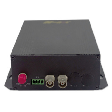 2 video 1 data analog optical video converter