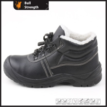 Knöchel Echtleder Winter Sicherheit Schuh mit Stahlkappe (SN5315)