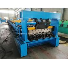 Автоматическая машина для производства профилей пола из алюминиевой стали