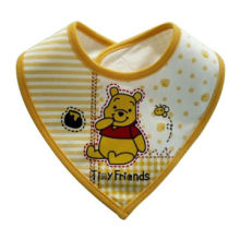 Baby bibs, one-off, non-woven cloth with PE film and paper sheet insideNew