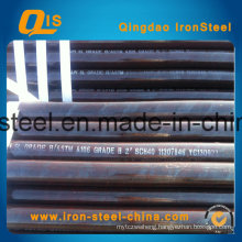 Carbon Seamless Steel Black Pipe by Hot Rolling
