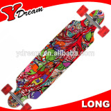 Custom Pattern Hybrids wholesale longboards trucks and wheels For Boys