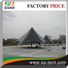 Kundenspezifisches Werbesternzelt im Freien sternförmiges Zelt für Förderung