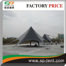Custom advertising star tent outdoor star shaped tent for promotion