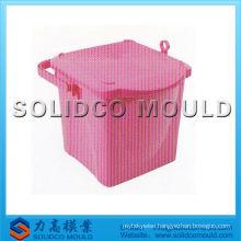 Plastic bucket lid mould