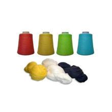 2/32 Nm Blended Yarn 50% Algodão 50% Fio Acrílico