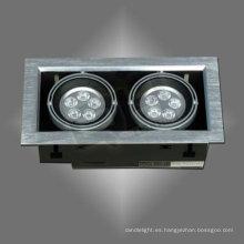 2 * 5 * 1w luz LED haba vesícula biliar