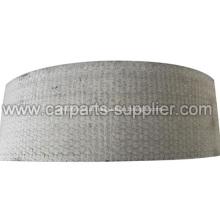 Rolamento de forro de freio tecido branco