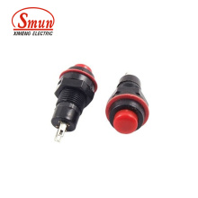 Ds-213 1A 250VAC 2 Pin 10mm off- (ON) Mementary Push Button Switch