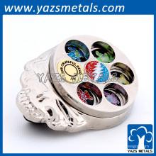 broches personnalisées pour badges, broche à ressort en métal sur mesure