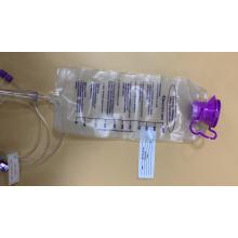 saco de alimentação em pvc médico OEM por atacado para paciente