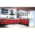 Modern Acrylic Demet Kitchen Cabinet