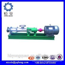 Pompe à vis submersible en acier inoxydable haute qualité industrielle