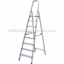 Haushalts-Aluminium-Stufenleiter / 8-Stufen-Kletterleiter