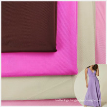 FDY cool feel 86 polyamide 14 elastane stretch 20 denier superfine fabric for dress lining