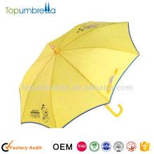 19 pouces 8k enfant pvc transparent enfants clair parapluie en plastique