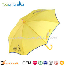 19 inch 8k kid pvc transparent kids clear plastic umbrella