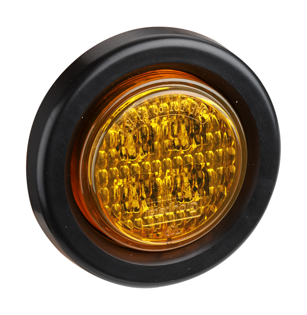 "2"" DOT LED Truck Side Marker Indicator Lights"