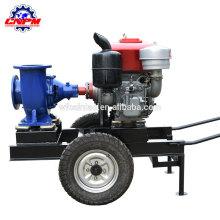 Pompe à eau d'irrigation agricole de moteur diesel