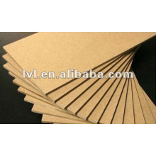 E1/E2 plain mdf board for furniture usage