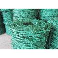 Hot-DIP Galvanizado Arame farpado Preço por rolo fabricado na China