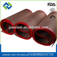 non stick high temperature resistance chemical resistance ptfe teflon mesh belt