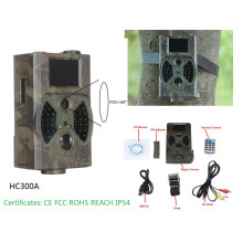 Cámara al por mayor del rastro de 12MP 1080p Digitaces 940nm con el flash negro HC300A