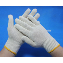100% cotton knitted working gloves 400--650 grams