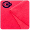 100% полиэстер микро анти пиллинг теплая флис две стороны щеткой для зимней одежды ткани