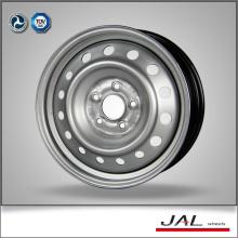 Fábrica de fornecimento de alta precisão 6.5x16 Rodas Jantes com 5 Lug na cor de prata