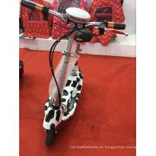 La nueva manera del estilo 2016 embroma la bici eléctrica del panel de la vespa