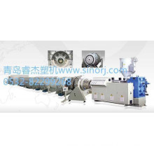 plastic hdpe gas or water supply pipe extrusion machine