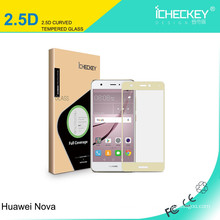 Factory Price High Quality Full Coverage Color 0.26mm screen protector for Huawei Nova