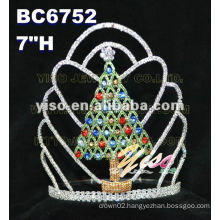 christmas tree tiara