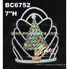Рождественская елка тиара