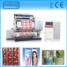 Qualidade automática verificando máquina de inspeção de tecido com câmera para todos os tipos de película impressa