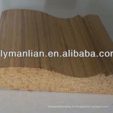 molduras de muebles sin terminar molduras de madera
