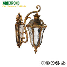 European Style CFL Cast Aluminum Wall Light
