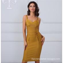 Slip Dress Bodycon Bandage Dress