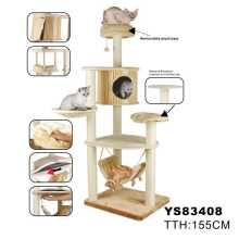 Natural Cat Tree, Large Cat Tree (YS83408)